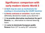 significance comparison with early modern islamic world 3