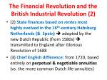 the financial revolution and the british industrial revolution 2