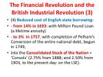 the financial revolution and the british industrial revolution 3