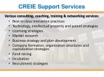 creie support services