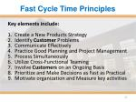 fast cycle time principles1