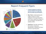 report frequent flyers