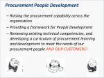 procurement people development