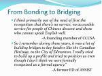 from bonding to bridging1