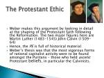 the protestant ethic1