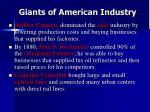 giants of american industry