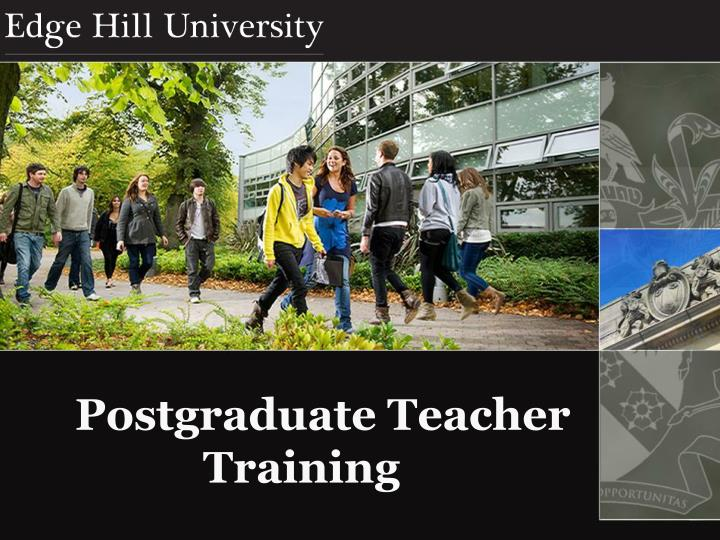 postgraduate teacher training n.