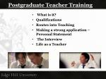 postgraduate teacher training1