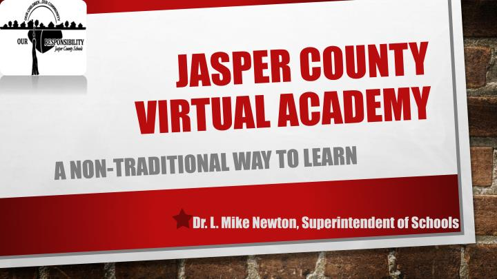 jasper county virtual academy n.