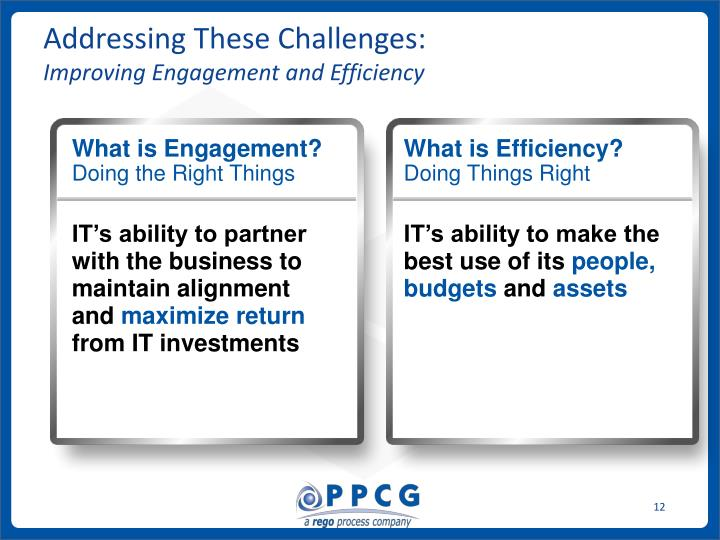 Addressing These Challenges: