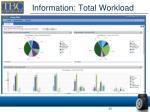 information total workload