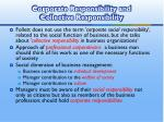 corporate responsibility and collective responsibility