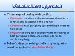 stakeholders approach2