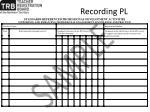 recording pl1
