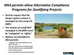 ms4 permits allow alternative compliance programs for qualifying projects