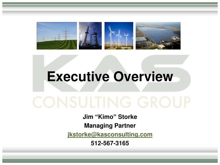 executive overview n.