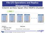 file i o operations and replica management7