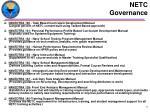 netc governance