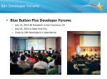 bb developer forums