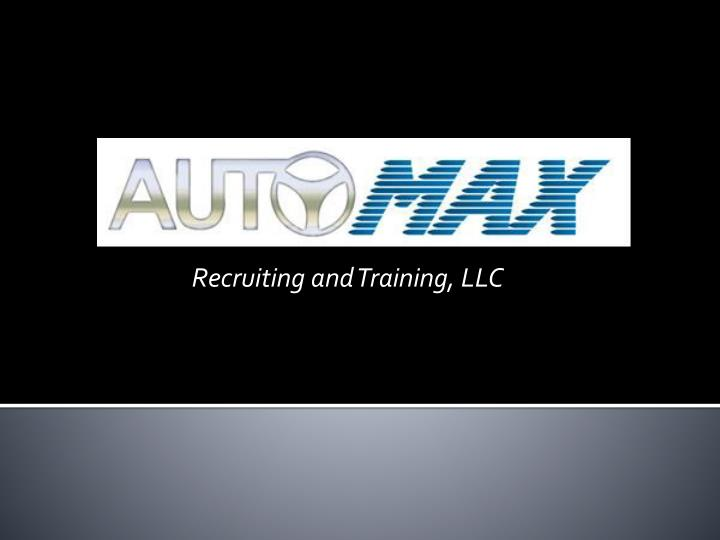recruiting and training llc n.