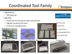 coordinated tool family