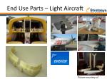 end use parts light aircraft