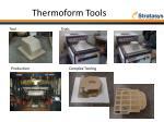 thermoform tools