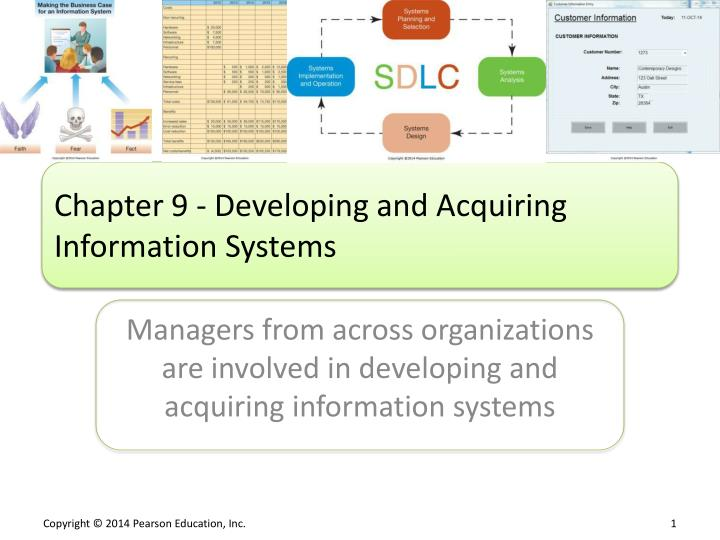 chapter 9 developing and acquiring information systems n.