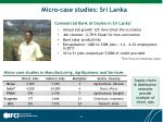 micro case studies sri lanka