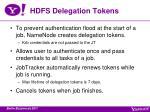hdfs delegation tokens