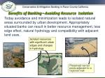 benefits of banking avoiding resource isolation