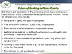 future of banking in placer county