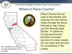 where is placer county