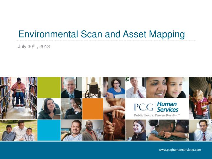 environ me ntal scan and asset mapping n.