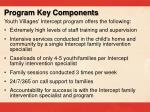 program key components