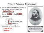 french colonial expansion