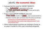 job 1 the economic ideas