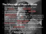 the message of pepe le moko