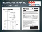 instructor training rjt lesson plans