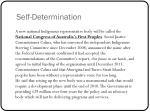 self determination3