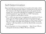 self determination7