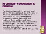 5 community engagement is essential