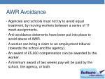 awr avoidance