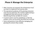 phase 4 manage the enterprise