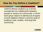 how do you define a coalition