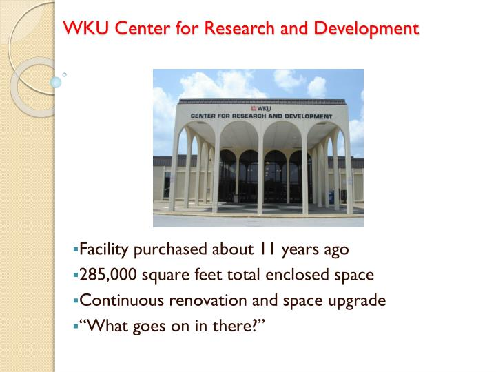 wku center for research and development n.