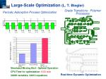 large scale optimization l t biegler