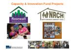 capacity innovation fund projects
