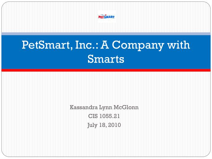 petsmart inc a company with smarts n.
