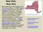 new york new y ork